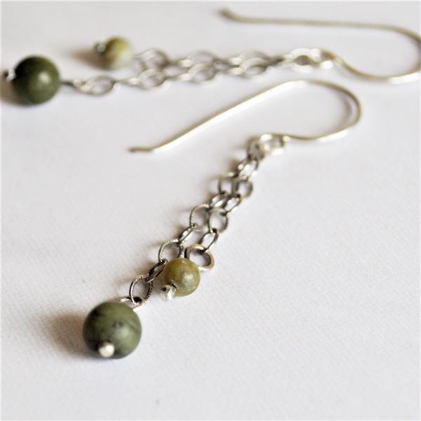 Connemara Marble Earrings Irish Jewelry