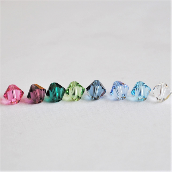 Custom Crystal Earrings Pick your color