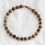 Tigers Eye with Connemara Marble beads bracelet