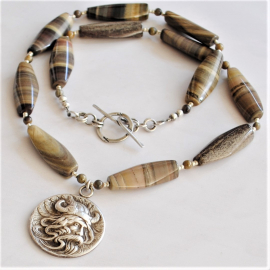 Viking Necklace Unisex Necklace