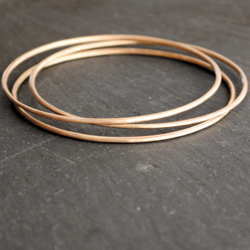 Bangles Set Bronze Bangles Set of three