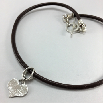 Heart Necklace Cowgirl Style Jewelry