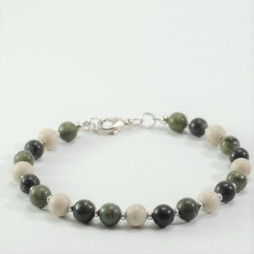 Colors of Ireland Bracelet Connemara Marble Bracelet